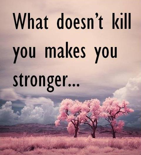 What Doesn T Kill You Will Make You Stronger Graciellealexandra S Story